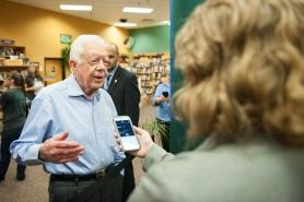 Interviewing Jimmy Carter